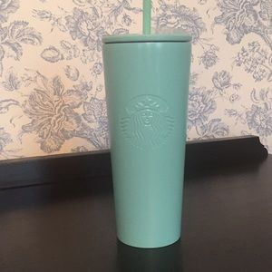 RARE Tiffany Blue Starbucks Tumbler